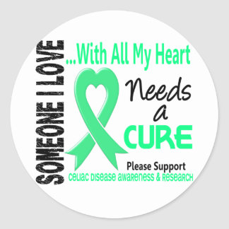 Celiac病気は治療3を必要とします ラウンドシール