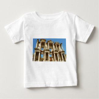 Celsusのローマの図書館、Ephesus、トルコ ベビーTシャツ