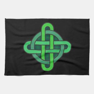 celtic knot ireland ancient symbol pagan irish gre キッチンタオル