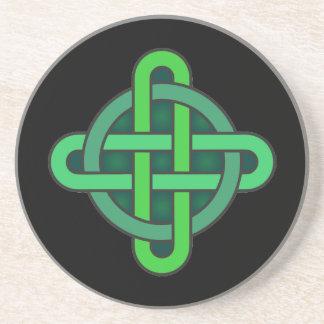 celtic knot ireland ancient symbol pagan irish gre コースター