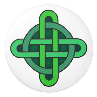 celtic knot ireland ancient symbol pagan irish gre セラミックノブ