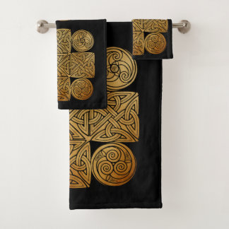 Celtic Knotwork Cross バスタオルセット