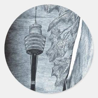 Centrepoint (シドニー-オーストラリア) ラウンドシール