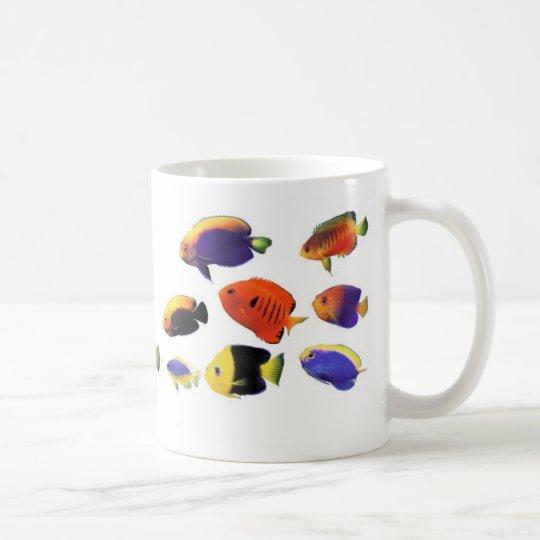 Centropygeのマグカップ、No.3 コーヒーマグカップ