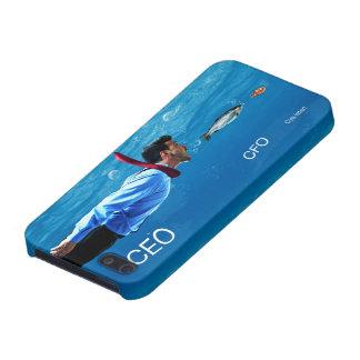 CEO CFO C-yaのより遅いオフィスのユーモアの電話箱 iPhone 5 カバー