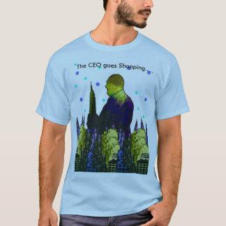 """""""CEO Tシャツ買物をする""""は人の行きます Tシャツ"""