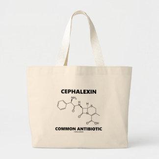 Cephalexinの共通の抗生物質(化学分子) ラージトートバッグ
