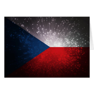 Českáのrepublika; チェコの旗 カード