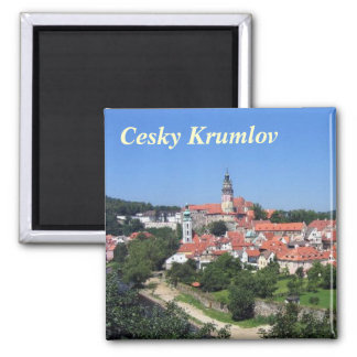 Cesky Krumlovの冷蔵庫用マグネット マグネット