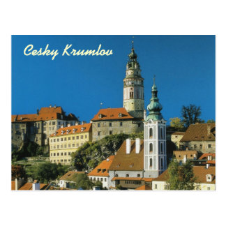 Cesky Krumlovの郵便はがき ポストカード