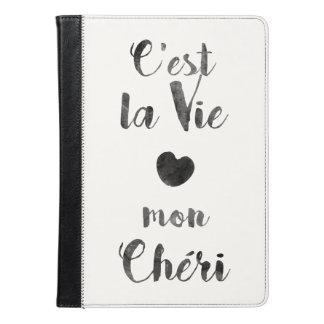 C'estのlaは月曜日Chériを竸います iPad Airケース
