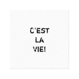 """""""C'estのLaは竸います! """" キャンバスプリント"""