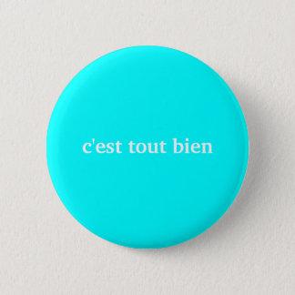 c'estダフ屋はボタンをbien 5.7cm 丸型バッジ