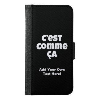 C'est Commeカリフォルニア-そののためのフランス語はによってある方法です Galaxy S6 ウォレットケース