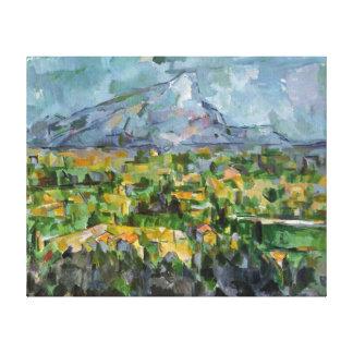 Cézanne著Mont Sainte-Victoire キャンバスプリント