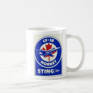 CF-18スズメバチの刺し傷のマグ コーヒーマグカップ