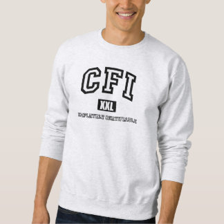 CFIの完全な保証できるスエットシャツ スウェットシャツ