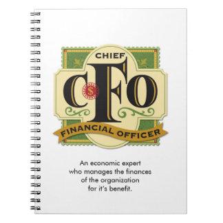 """""""CFO""""のノート ノートブック"""