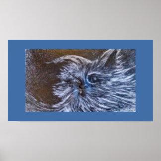 CFWによる青猫の芸術 ポスター