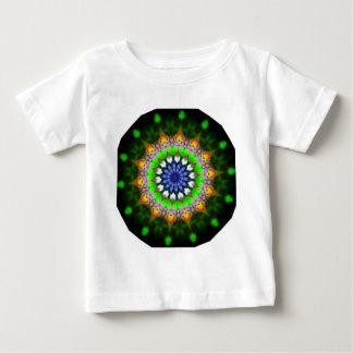 CGBデジタルArt.pngによるエメラルドグリーンのかわいいness ベビーTシャツ