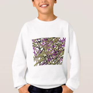 CGDHFN抽象的なデジタルのライン芸術 スウェットシャツ