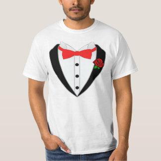 CGWCのタキシードのワイシャツ Tシャツ
