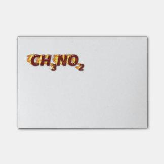 CH3NO2 -ニトロ ポストイット