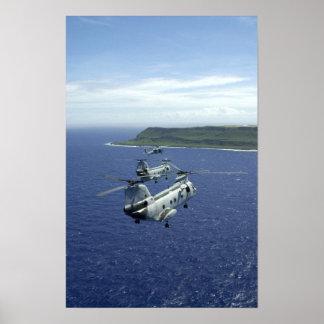 CH-46海の騎士 ポスター