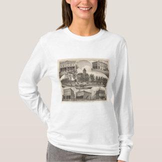 CH Lebold、アビリン、カンザスの特性 Tシャツ