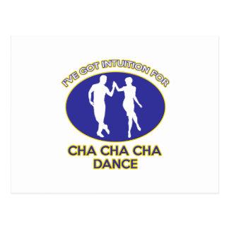 chaのchaのchaのデザイン ポストカード