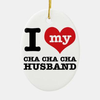 chaのchaのchaの妻 セラミックオーナメント