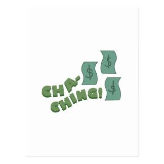Cha Ching! ポストカード