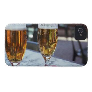 Chablis; 熱い夏42度のの2つの涼しいビール Case-Mate iPhone 4 ケース