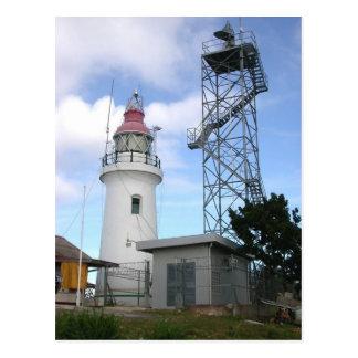 Chacachacareの灯台、トリニダードの郵便はがき ポストカード