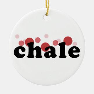chaleの傾向のデザイン セラミックオーナメント