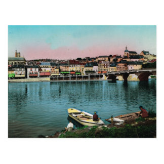 Chalonsのsurソーヌの水辺地帯 ポストカード