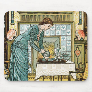 Chamberの「家の洒落男へのfrontispiece私の女性の マウスパッド