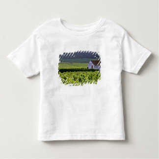 Chambertin Clos de Beze Grand Cruのブドウ園との トドラーTシャツ