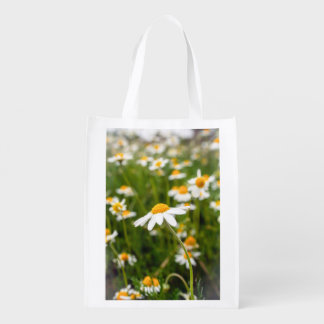 chamomileの花のバッグ エコバッグ