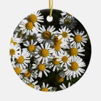 Chamomileの花 セラミックオーナメント