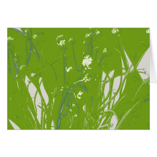 chamomile分野の緑 カード