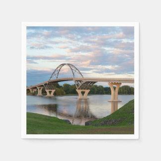 Champlain橋 スタンダードカクテルナプキン