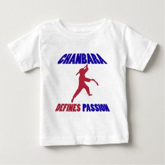 chanbara私の情熱 ベビーTシャツ