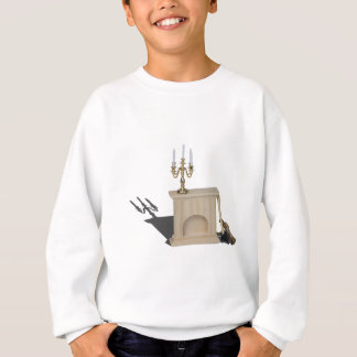 ChandelierFireplaceLogsHatchet101115.png スウェットシャツ
