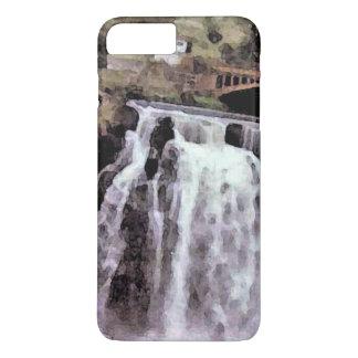 Chaniaの滝、アフリカ iPhone 8 Plus/7 Plusケース