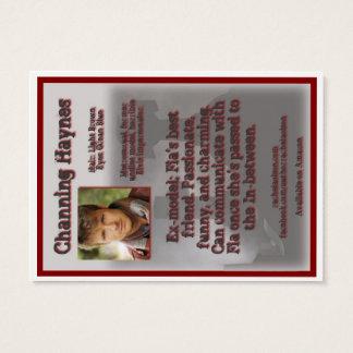 Channingヘインズのキャラクターのトレーディングカード- LDD 名刺