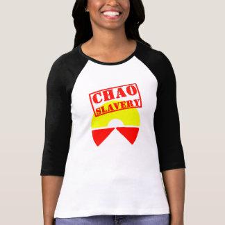 Chaoの隷属さようなら世界的に Tシャツ