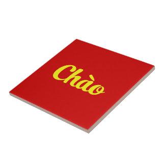 Chào/こんにちは~ベトナム/ベトナム語/Tiếng Việt タイル