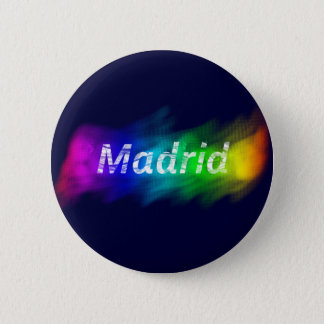Chapa Madrid Gay (Button Madrid Gay) 5.7cm 丸型バッジ
