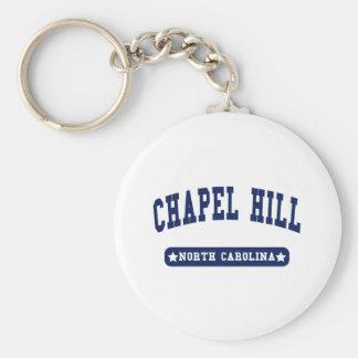 Chapel Hillノースカロライナの大学スタイルのTシャツ キーホルダー